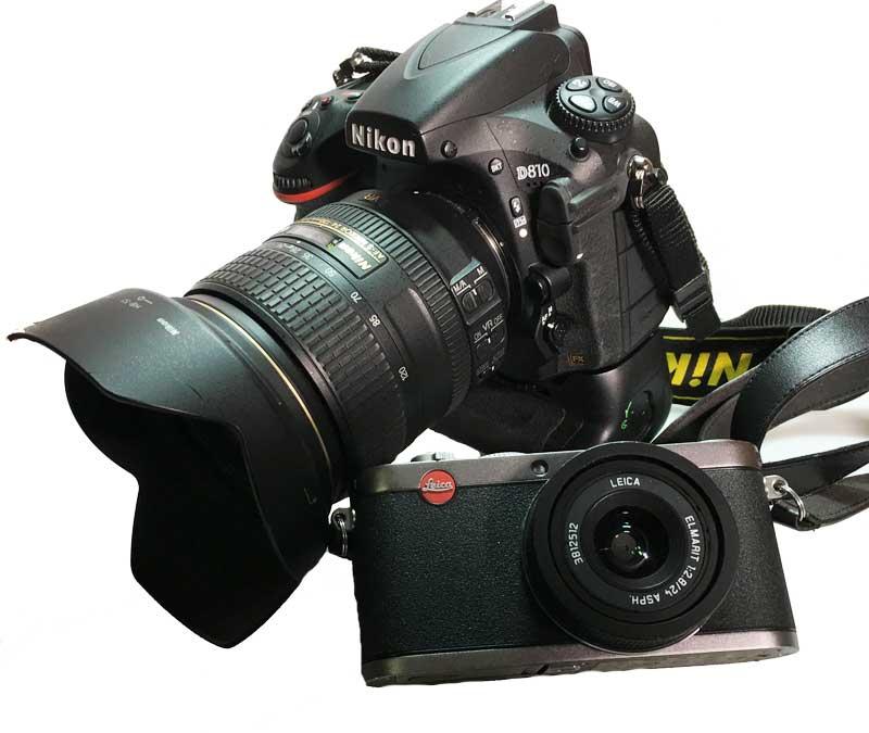 DSLR vs. kleine Systemkamera
