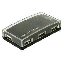 Delock USB 2.0 Externer Hub 4 Port