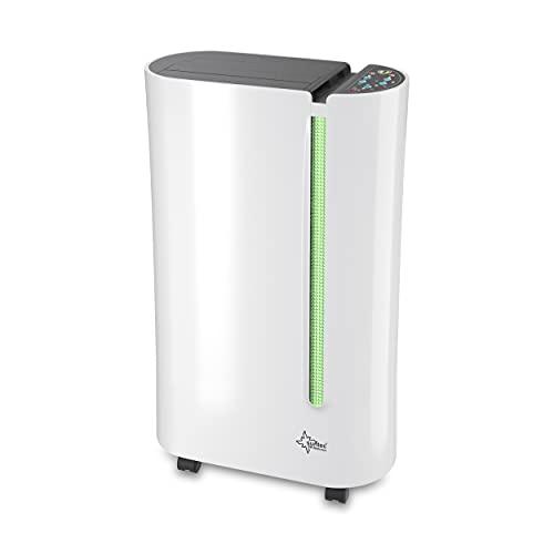 SUNTEC Dryfix 20 Lumio Luftentfeuchter – für Räume bis...