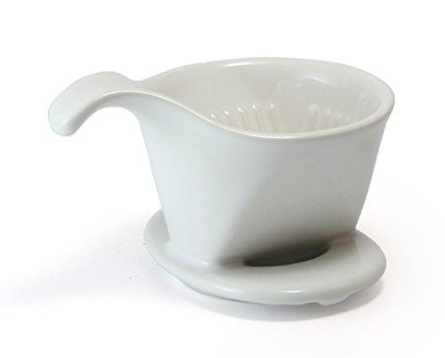 Bee House Ceramic Coffee Dripper - Small - Drip Cone Brewer...