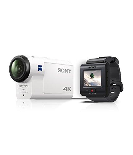 Sony FDR-X3000R 4K Action Cam mit BOSS (Exmor R CMOS Sensor,...