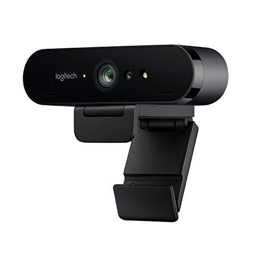 Logitech BRIO ULTRA-HD PRO Webcam, 4K HD 1080p, 5-fach Zoom,...