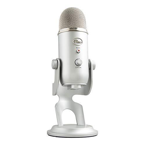 Blue Yeti  USB-Mikrofon für Aufnahme und Streaming auf PC...