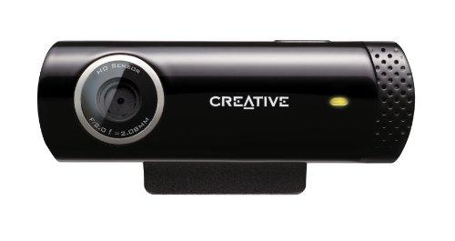 Creative LIVE! Cam Chat HD (USB-Webcam mit integriertem...