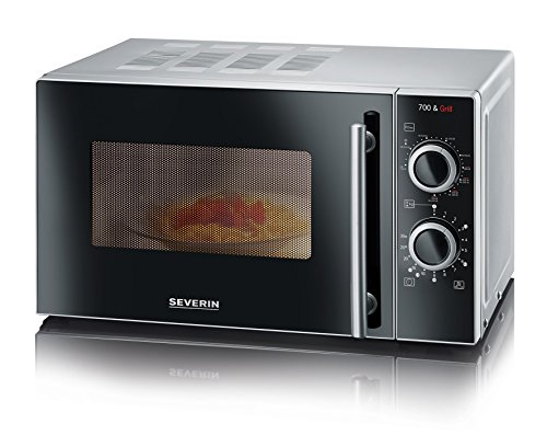 SEVERIN MW 7875 2-in-1 Mikrowelle (700W, mit Grillfunktion,...