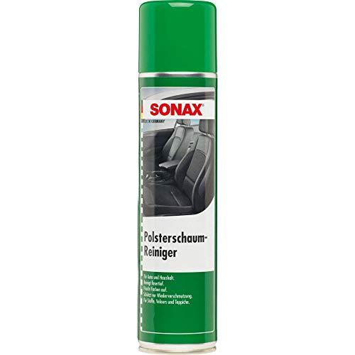 SONAX PolsterSchaumReiniger (400 ml) entfernt fasertief...