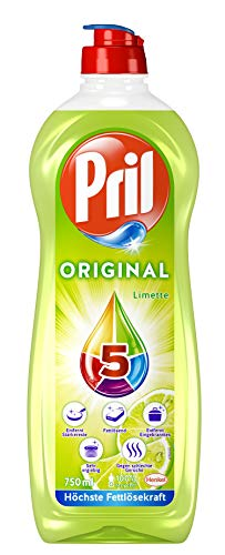 Pril 5 Original Limette, Spülmittel, beseitigt starke...