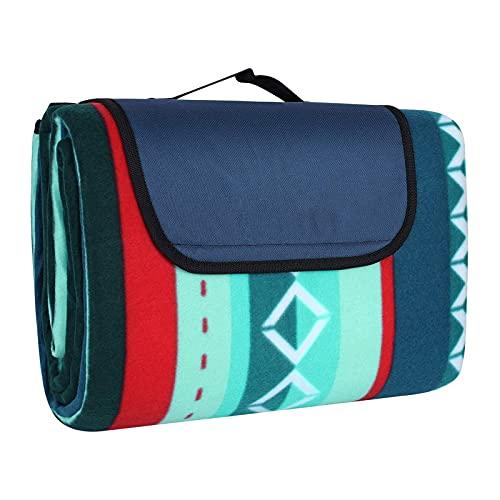 Picknickdecke 200 x 300 cm, Picknick-Matte Outdoor...