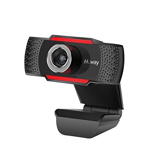HD Webcam, M.Way 720P 1Million Pixel Full HD Web Kamera, USB...
