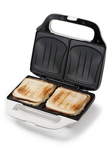 XL-Sandwich-Toaster, Dom-Sandwich Sandwichmaker Muschelform,...