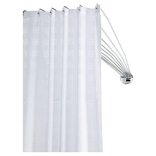 Sealskin Duschvorhangstange Umbrella - die flexible...