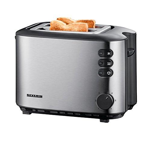 SEVERIN Automatik-Toaster, Inkl. Brötchen-Röstaufsatz, 2...