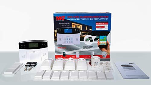 GSM Funk-Alarmanlage Set von Multi Kon Trade I Alarmanlage...