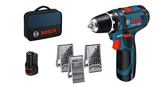 Bosch Professional Akkuschrauber GSR 12V-15 (2x2, 0 Akku, 12...