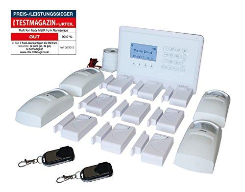 Multi Kon Trade hochwertige GSM Funk Alarmanlage mit...