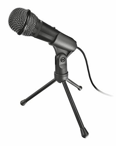 Trust Starzz USB All round Mikrofon schwarz