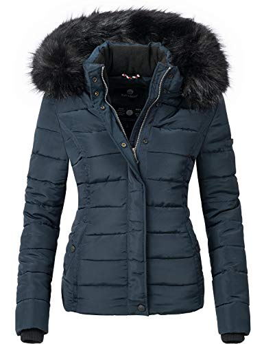 Navahoo Damen Winter Jacke Steppjacke Miamor Gelb Gr. S