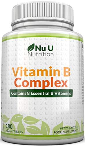 Vitamin B-Komplex - alle 8 B-Vitamine in einer Tablette -...