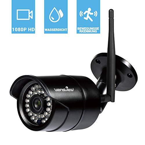 Wansview WLAN IP Kamera, Sicherheitskamera 1080P HD für...