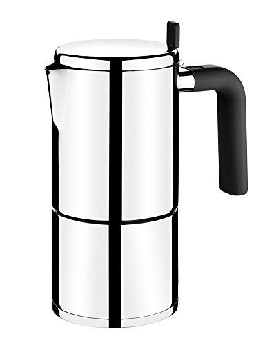BRA 170403 Bali Italienische Kaffeemaschine für 10 Tassen,...