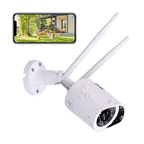 HiKam A7 Überwachungskamera für außen mit Support in...