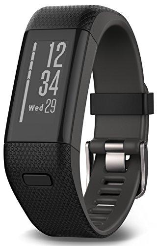 Garmin vívosmart HR+ Fitness-Tracker - GPS-fähig,...