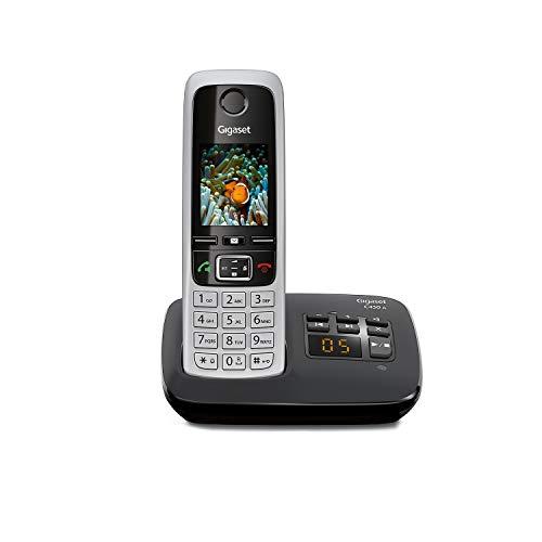 Gigaset C430A Schnurloses Telefon mit Anrufbeantworter (DECT...