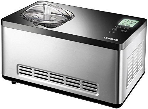 UNOLD 48845 Eismaschine Gusto mit selbstkühlendem...
