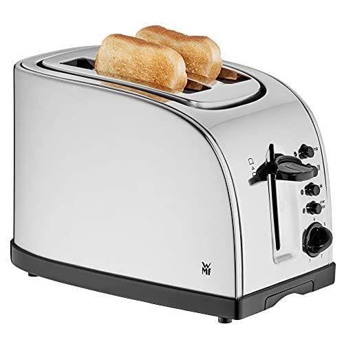WMF Stelio Toaster Edelstahl, Doppelschlitz Toaster mit...