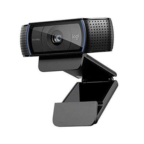 Logitech C920 HD PRO Webcam, Full-HD 1080p, 78° Sichtfeld,...