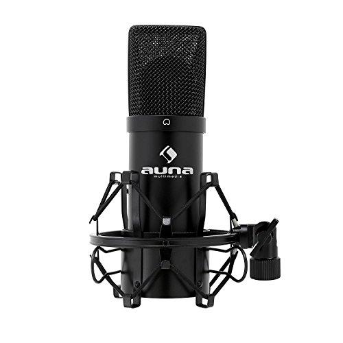 auna MIC-900B, USB Kondensator-Mikrofon, Gaming-Mikrofon,...