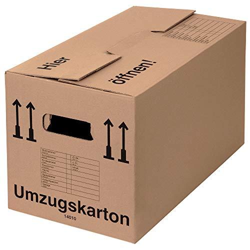 BB-Verpackungen 25 x Umzugskarton PROFI 600 x 328 x 340 mm...