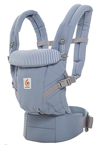 Ergobaby Babytrage für Neugeborene bis Kleinkind Azure...