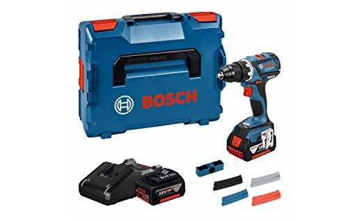 Bosch Professional Akkuschrauber GSR 18 V-EC (2x 4,0 Ah...