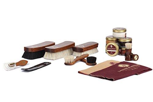 Langer & Messmer 17-teiliges Schuhpflegeset inkl....