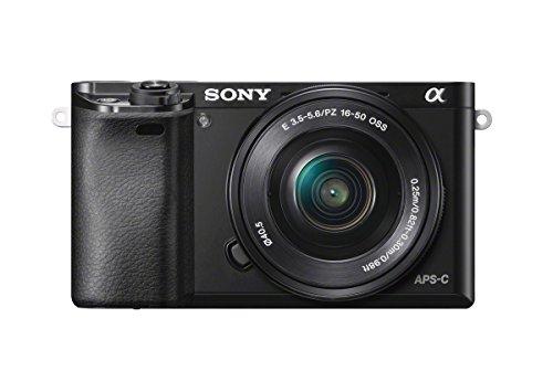 """Sony Alpha 6000 Systemkamera (24 Megapixel, 7,6 cm (3"""")..."""