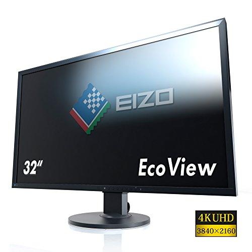 Eizo EV3237-BK 80 cm (31,5 Zoll 4K UHD) Monitor (DVI-D,...