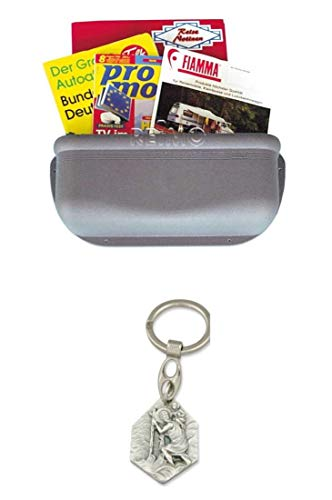 Zisa-Kombi Staubehälter Kunststoff (Farbe: grau)...