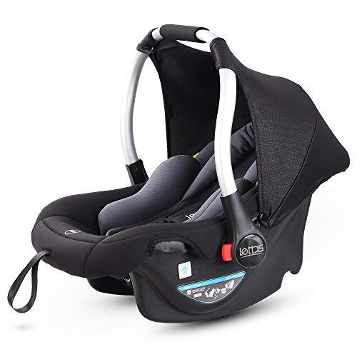 LETTAS Babyschale Baby-Autositz mit Sonnenverdeck Gruppe 0+...