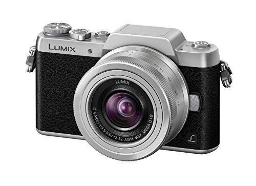 Panasonic LUMIX G DMC-GF7KEG-S Systemkamera (16 Megapixel,...