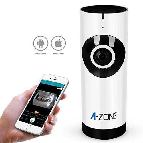 A-ZONE Mini IP WLAN Kamera 720P Funk Überwachungskamera mit...