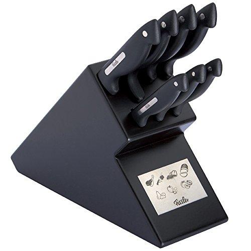 Fissler signum / Messerblock-Set (8-tlg.) Küchenmesser-Set,...