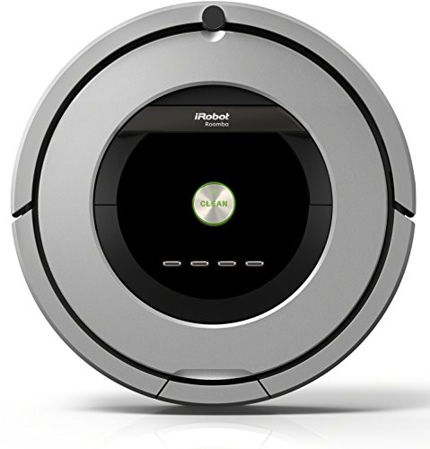 iRobot Roomba 886Staubsaugerroboter (beutellos, für...