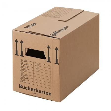 BB-Verpackungen 30 x Bücherkarton Profi 500 x 300 x 350 mm...