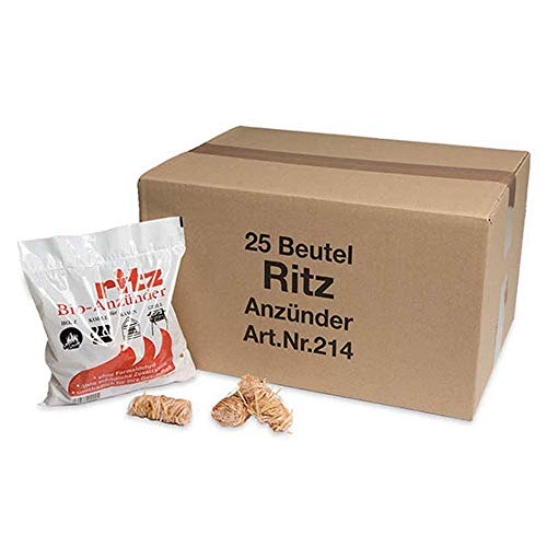 Ritz Bio Anzünder 325 Stück | Kaminanzünder |...
