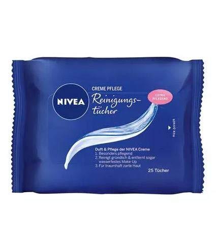 Nivea Creme Pflege Gesichts-Reinigungstücher, 6er Pack (6 x...