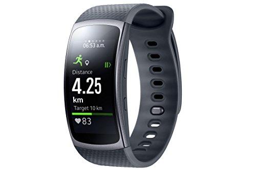 Samsung Gear Fit 2 Smartwatch mit Pulssensor und...