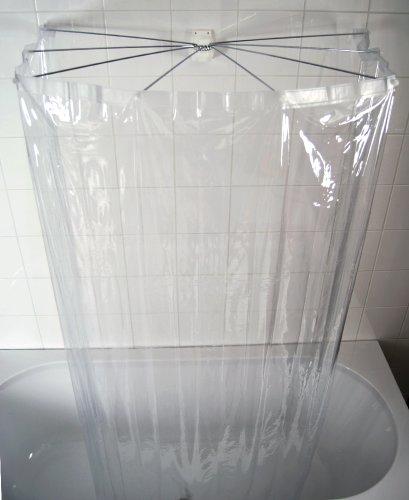 RIDDER 58200-350 Duschspinne, Duschfaltkabine, Ombrella mit...