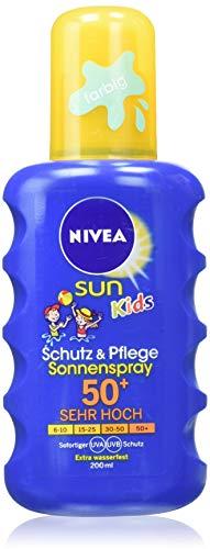 Nivea Sun Kids Schutz & Pflege Sonnenspray,...