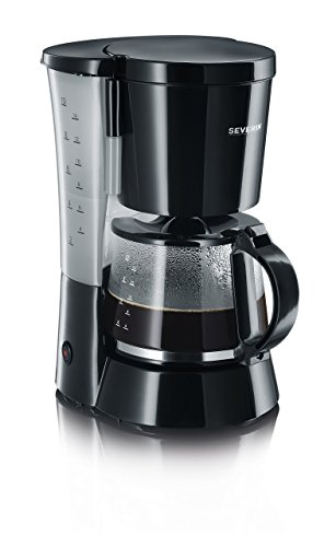 SEVERIN Kaffeemaschine, Für gemahlenen Filterkaffee, 10...